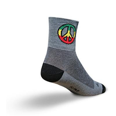 Buy Low Price SockGuy Classic 3in Peace Cycling/Running Socks (B0025L5SOK)