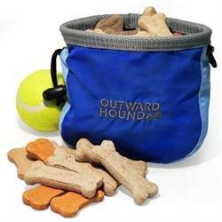 Kyjen Outward Hound Jr. Dog Treat 'N Ball Bag, Colors Vary