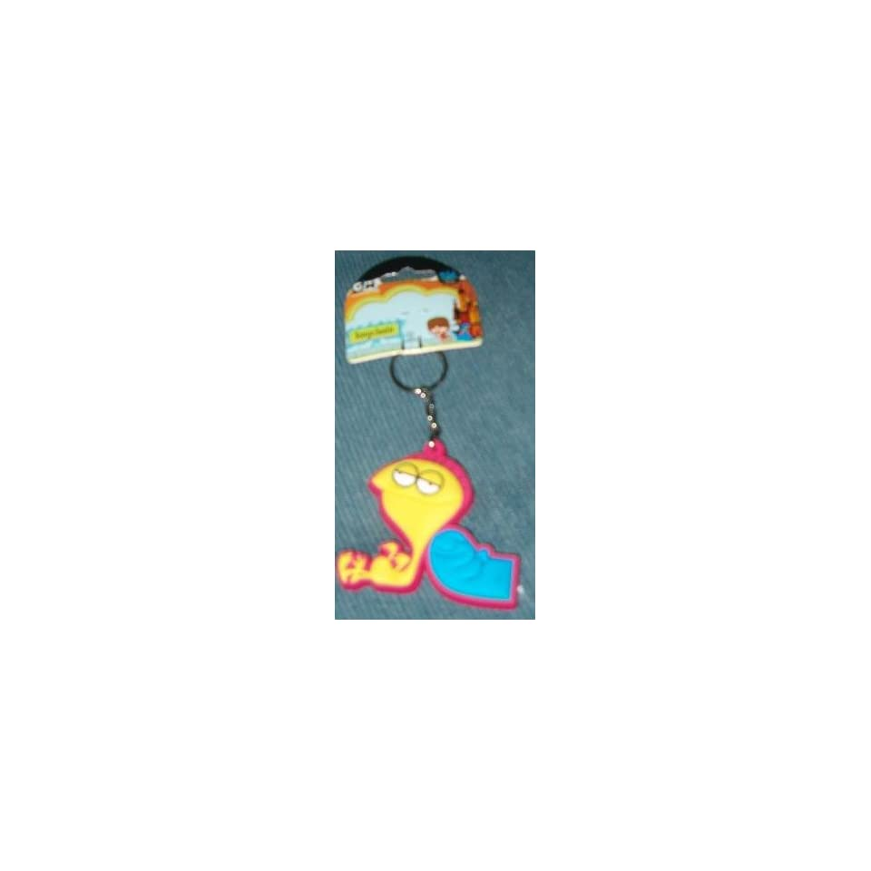 Fosters Home Imaginary Friends Bloo Cheese Key Chain On