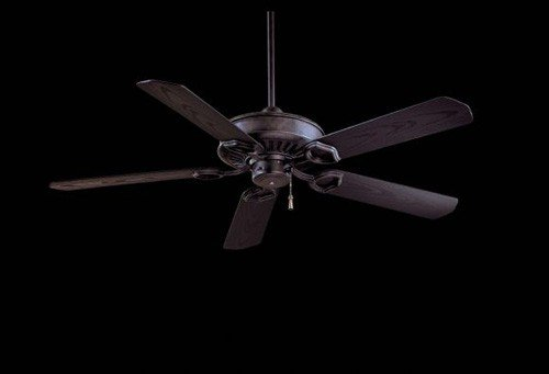 Minka-Aire F589-HT Minka Aire Heritage Ceiling Fan, Black
