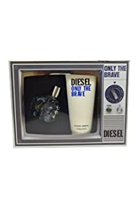 diesel only the brave gift set 50ml edt 200ml all over shampoo beauty. Black Bedroom Furniture Sets. Home Design Ideas