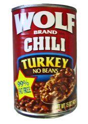 Wolf Turkey Chili w/o Beans 12ct