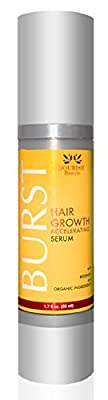BURST Hair Loss Treatment - Advanced Science Combats Hair Loss at the Roots - With Patented Redensyl and Organic Ingredients - by Nourish Beaute