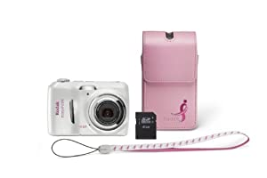 Kodak EasyShare C1530 14 MP Digital Camera with 3x Optical Zoom and 3.0-Inch LCD (Includes Memory Card and Camera Bag) (Susan G. Komen Limited Edition Bundle)