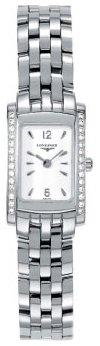 Longines DolceVita Diamond Steel Ladies Watch 51580166