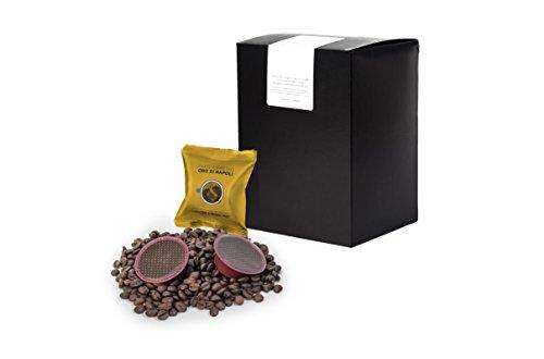 Order LaCompatibile LAVAZZA A MODO MIO(R) - 100 Compatible Capsules Coffee Oro di Napoli Intense from LaCompatibile.it