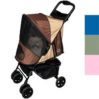 Pet Gear Happy Trails Pet Stroller & Weather Cover sahara-color weather cover (stroller sold separately)