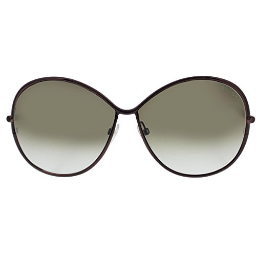 Tom Ford Women's Iris Sunglasses, Dark Bronze, One Size (Tom Ford Iris compare prices)