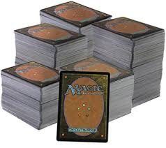 Magic: The Gathering; Green Lot; 50 MTG Trading Cards From Beta to 2014