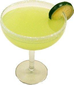 MARGARITA GLASS Fake Drink