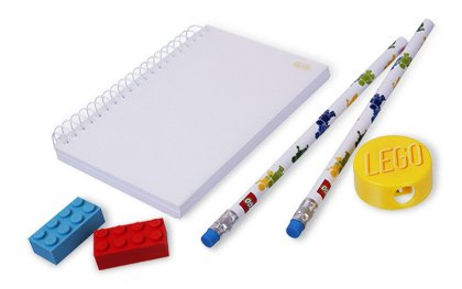 LEGO Signature Minifigure Stationery Set 853143 - 1