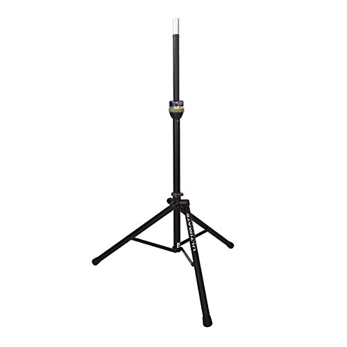 New Ultimate Support | High-Quality Telelock Series Aluminum Lift-Assist Tripod Speaker Stand, Ts-90B With Integrated Speaker Adapter (Ts-90B)