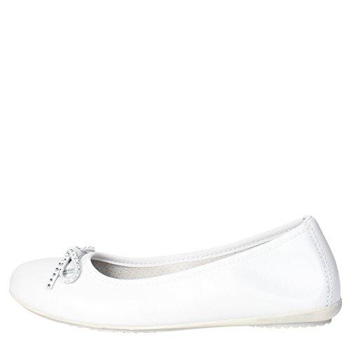 Ciao Bimbi 3102.06 Ballerina Bambina Pelle Bianco Bianco 26