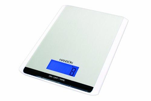 Hanson H035 Balance de cuisine électronique avec mesurage des liquides Aluminium 3kg