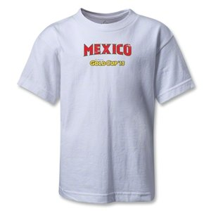 hidden CONCACAF Gold Cup 2013 Toddler Mexico T-Shirt (White)