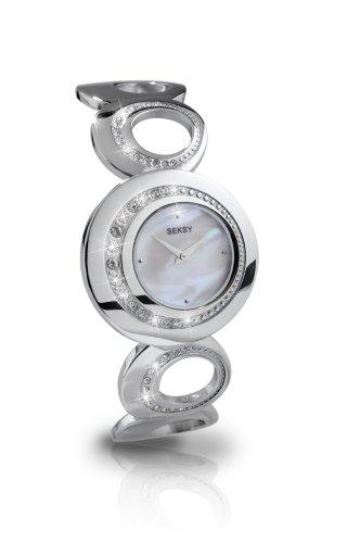 Seksy 4199.37 Bracelet Watch with Swarovski Crystals