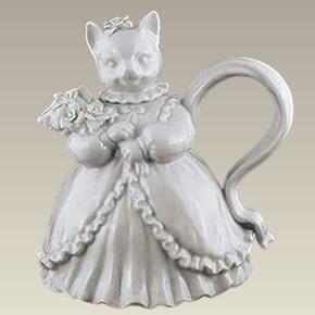 """Cat Teapot, 24 Oz., 7.5"""""""