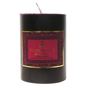 FRANKINCENSE & MYRRH - Shearer Scented Candle - PILLAR - 20 Hours