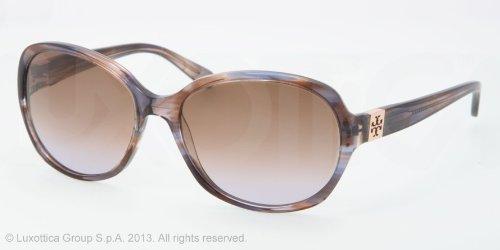 Tory BurchTory Burch Sunglasses - TY7033 / Frame: Blue Brown Tort Lens: Brown Plum