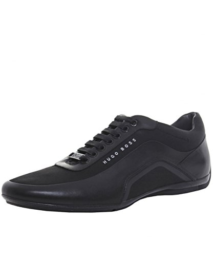 BOSS Hugo Boss Herren HB-Racing-Trainer 43 Schwarz thumbnail