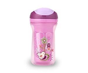 Tommee Tippee Explora - Botella de agua con pajita, color rosa por Tommee Tippee