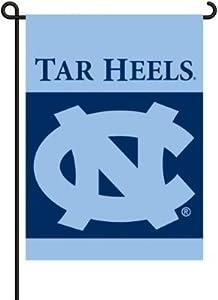 North Carolina Tar Heels - UNC 2-Sided Garden Flag Set W/ #11213 Garden Pole - NCAA