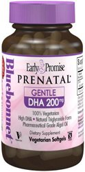BlueBonnet Early Promise Prenatal Gentle DHA 200 mg Vegetable Capsules from Bluebonnet