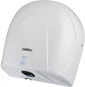 Casselin - csm2b - Sèche-mains air chaud ou froid 900w blanc