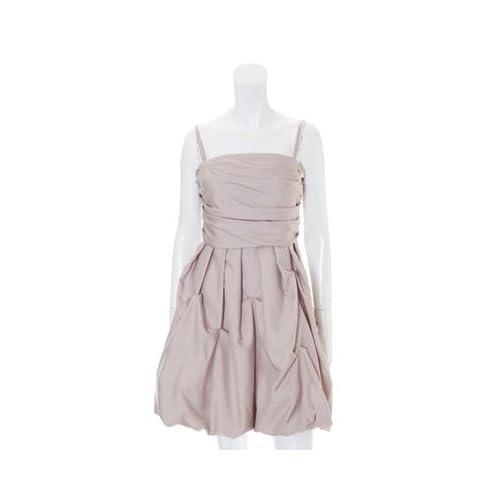 (エフデ)ef-de dress ジャガードドットバルーンキャミワンピース グレーベージュ 09