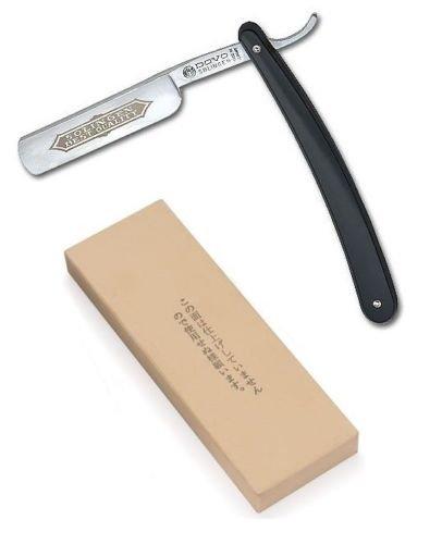 Dovo Straight Shaving Razor And Japanese Water Stone 6000 Grit