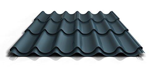 stahl-pfannenblech-ps47-1060rt-040-mm-25-um-polyester-farbedunkelgraulange2550-mm