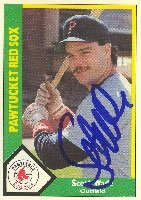 Scott Wade Pawtucket Red Sox - Red Sox Affiliate 1990 CMC Autographed Hand Signed... by Hall of Fame Memorabilia