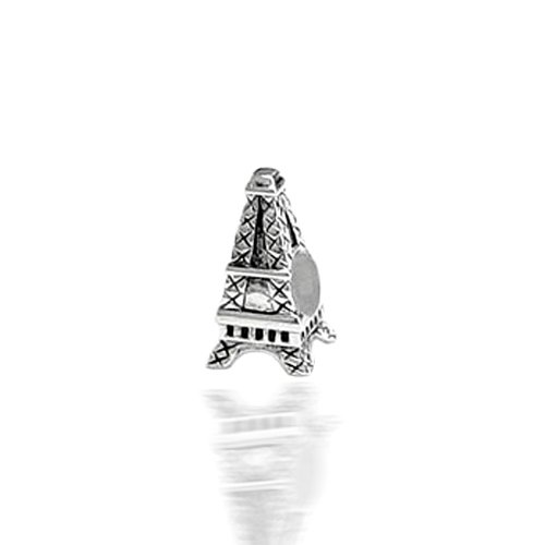 Bling Jewelry Eiffel Tower 925 Sterling Silver Charm Bead Pandora Pugster Biagi Compatible