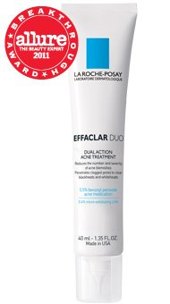 La Roche-Posay Effaclar Duo Dual Action Acne Treatment, 1.35 Fluid Ounce