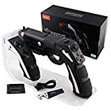 PG-9057 The Phantom shox Blaster Bluetooth Gun Controller Gamepad Wireless Shooting Game Console Joysticker Gaming Joypad Gamecube For Iphone Ipad Samsung Huawei Smartphone Tablet TV Box Windows PC