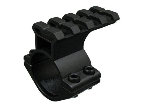 Seben Adaptateur Rail Weaver Picatinny 21mm Montage Lunettes Visée 25,4mm RSM03