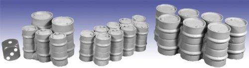 28mm Sci-Fi Terrain:: Oil Drums and Barrels