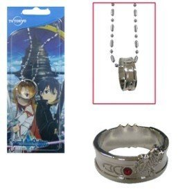 Sword Art Online Krito and Asuna Ring necklace (Sword Art Online Ring compare prices)