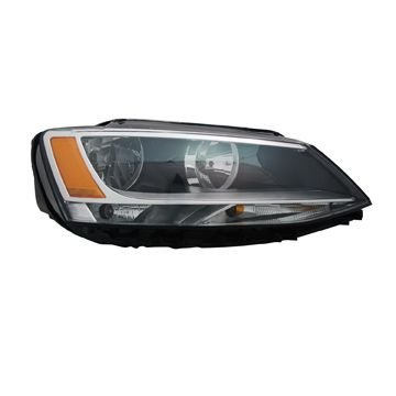 Volkswagen Jetta 11-13 Headlight Assembly RH USA Passenger Side (2011 Jetta Headlight Assembly compare prices)