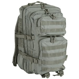 Mil-Tec Military Army Patrol Molle Assault Pack Tactical Combat Rucksack Backpack Bag 50L Foliage