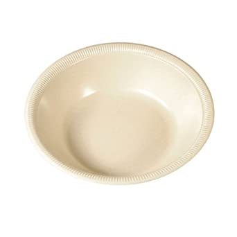 SOLO SS30BYC Silent Service Polystyrene Foam Salad Bowl, 30 oz. Capacity, Champagne (Case of 500)