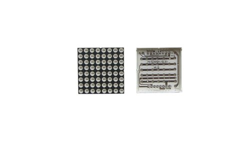 5Pcs Red Common Anode 8 X 8 Led Dot Matrix Display Dia 3.75Mm 38X38Mm 16 Pins