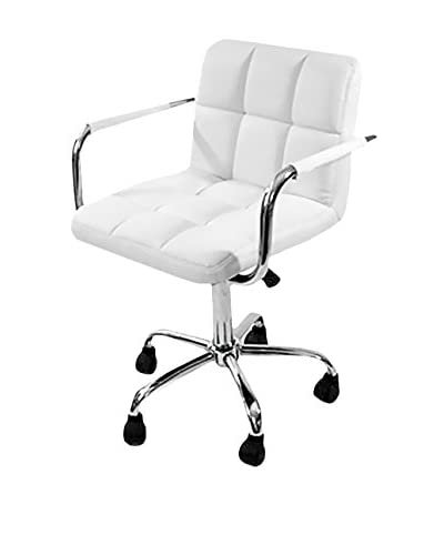 Manhattan Living Studio Chair, White