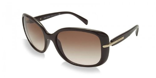 prada PRADA Sunglasses PR 08OS DHO0A6 Brown 57MM