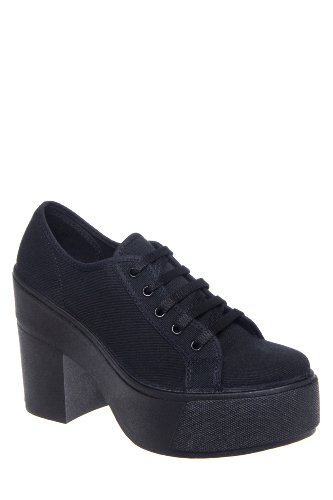 Shellys London Funcluo High Heel Platform Sneaker