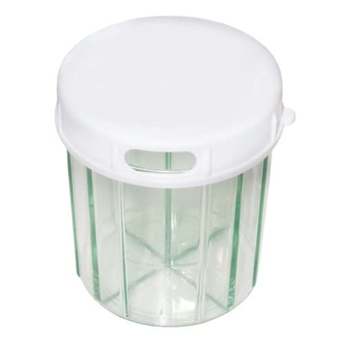 Amazon.com: Pill Dispenser - 6 Sections - Perfect for