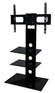 The Best  Mountright TMK002B Cantilever TV Stand With Swivel For 27 Up To 50 inch