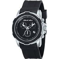 時計 Black Dice メンズ Vibe BD-066-01 Black Silicone Quartz Watch with Blue Dial [並行輸入品]