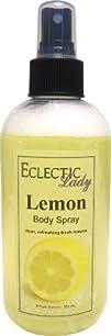 Body Spray  Lemon 8 ounces