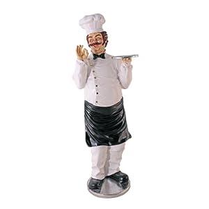 La Abbodanza Life - Size Chef Statue